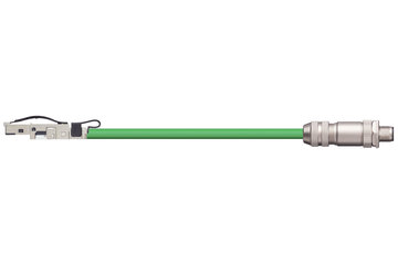 readycable® bus cable suitable for B&R iX67CA0E41.xxxx, base cable TPE 12.5 x d